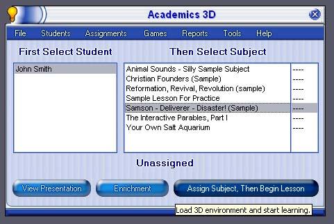 Academics 3D